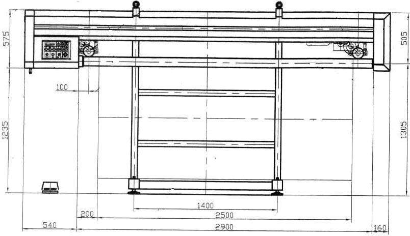 Вентиляционное оборудование: Фальцеосадочный станок ММЗ-3601